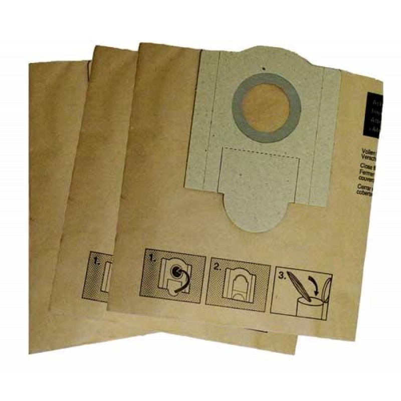 Fein Vacuum Small Paper Dust Collector Bags On Sale