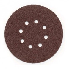 "6"" Random Orbital ""Red"" Hook and Loop Sandpaper - 50 PACK  6-37-28-XXX-XX-X"
