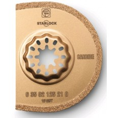 "STARLOCK 125 CARBIDE SEGMENTED 3"" GROUT BLADE - KERF 1/16"""