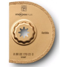 "STARLOCK 170 CARBIDE SEGMENTED 3-9/16"" GROUT BLADE - KERF 1/16"""
