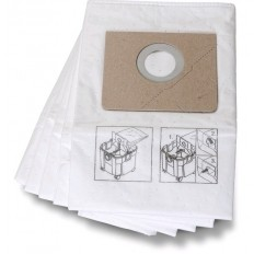 Non Woven Premium Filter Bag 5 pack for Turbo X & Turbo X AC  part# 3-13-45-251-01-0